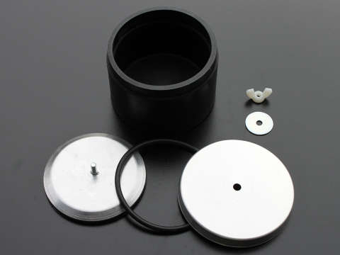 Medium Rubber Drum 950gm Open