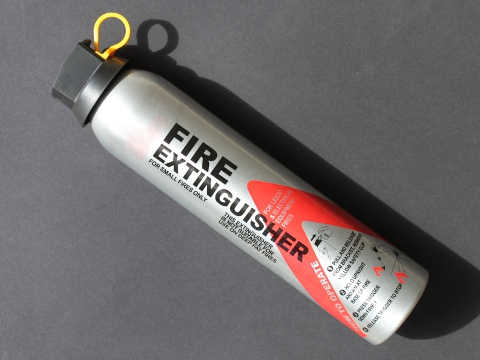 Dry Powder Extinguisher.