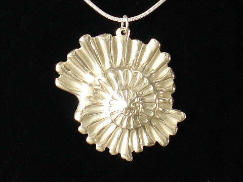 Art Clay Silver Necklace.