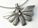 Art Clay Silver Pendant